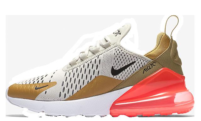 Nike Air Max 270 Flat Gold Womens | AH6789 700 | The Sole Womens