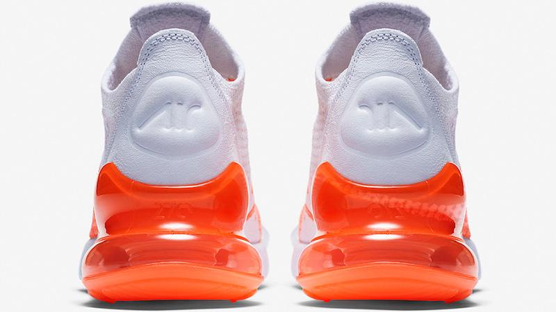 Nike Air Max 270 Flyknit Crimson Pulse Womens   AH6803-800