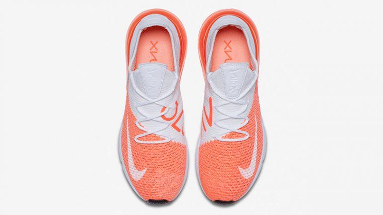 Nike Air Max 270 Flyknit Crimson Pulse Womens   AH6803-800 thumbnail image