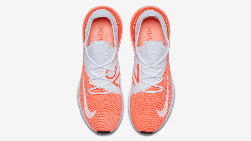 best service db6ce e94f6 Nike Air Max 270 Flyknit Crimson Pulse Womens | AH6803-800