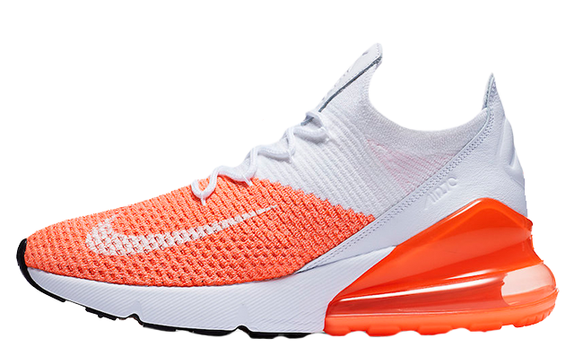 best service 38711 1d4e0 Nike Air Max 270 Flyknit Crimson Pulse Womens | AH6803-800