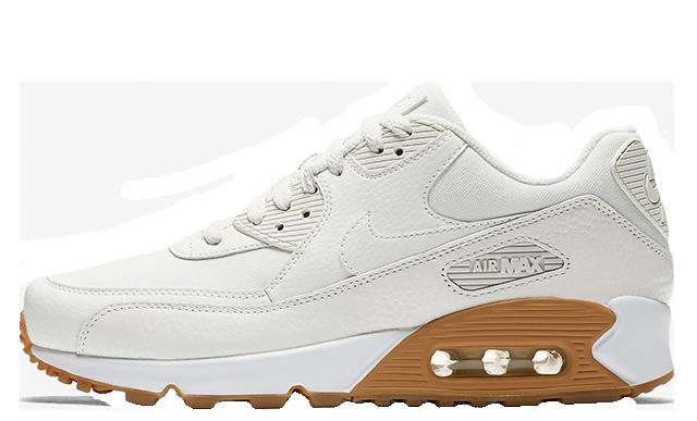 Nike Air Max 90 White Gum Womens 896497-100