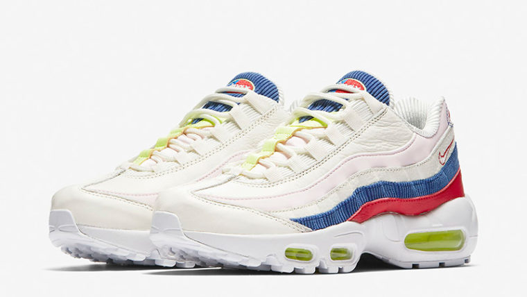 promo code d3cd9 0f9b8 Nike Air Max 95 SE White Multi Womens | AQ4138-101