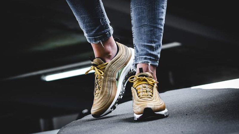 check out bcb77 b6513 Nike Air Max 97 OG Gold Womens | 885691-700