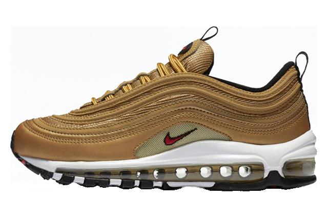 Nike Air Max 97 OG Gold Womens 885691-700