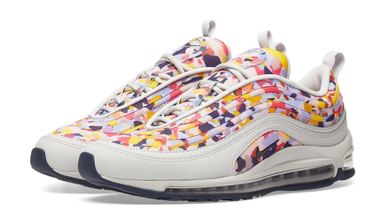 the latest a9a30 5e8fb Nike Air Max 97 White Confetti Womens | AO2325-003