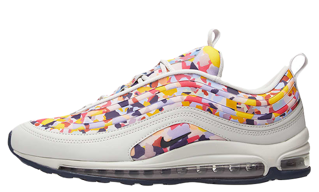 Nike Air Max 97 White Confetti Womens | AO2325-003