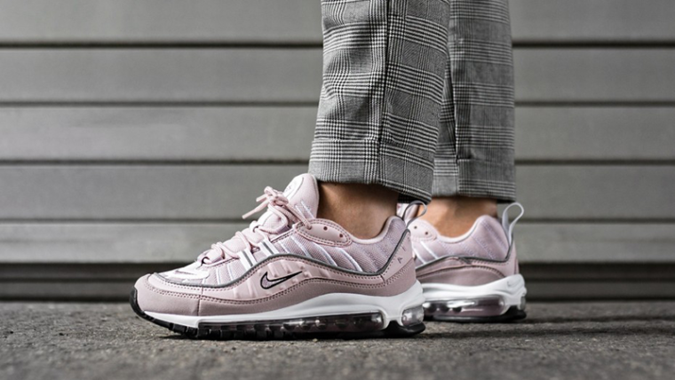 buy online 108ef 3cd6f Nike Air Max 98 Barely Rose Womens | AH6799-600