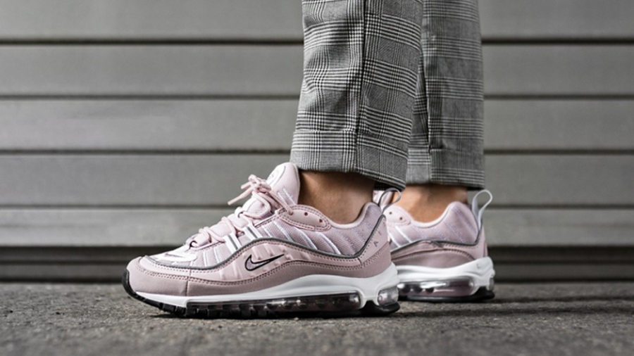 Nike Air Max 98 Barely Rose Womens   Where To Buy   AH6799-600 ...
