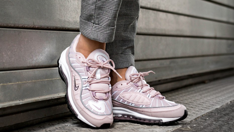 low priced 9d1ab 1febe Nike Air Max 98 Barely Rose Womens  AH6799-600