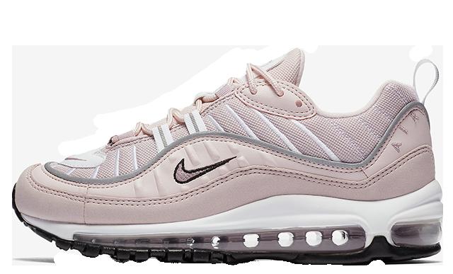 Nike Air Max 98 Barely Rose Womens | AH6799-600