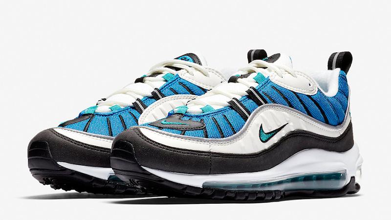 cheap for discount adc11 38cf2 Nike Air Max 98 Blue Nebula Womens | AH6799-106