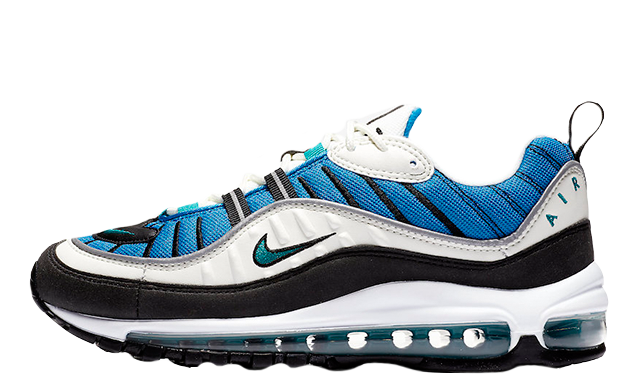 40c20c4b6e ... Air Max 98 Blue Nebula Womens. These pretty kicks are officially  launching on May 24th via the stockists listed. Make sure to follow The  Sole Women's ...