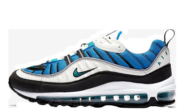 Nike Air Max 98 Blue Nebula Womens AH6799-106