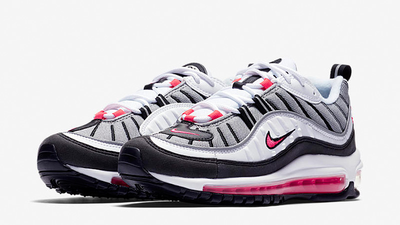 newest a0fd3 2ab44 Nike Air Max 98 Solar Red Womens | AH6799-104