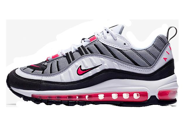 Nike Air Max 98 Solar Red Womens AH6799-104