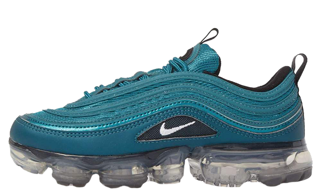a25906d0d4d61 Nike Air VaporMax 97 Metallic Dark Sea