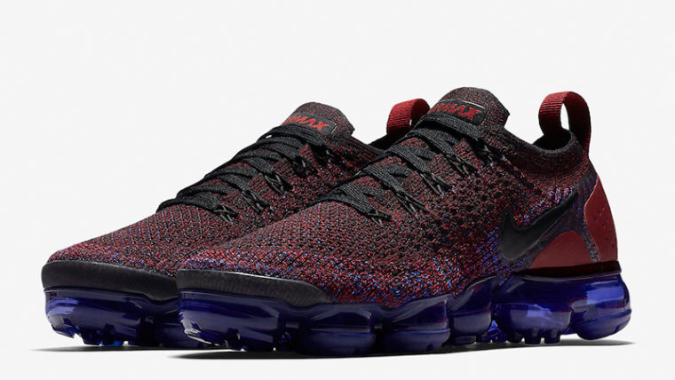 hot sale online a473a ac277 Nike Air VaporMax Flyknit 2 Team Red Womens | 942843-006