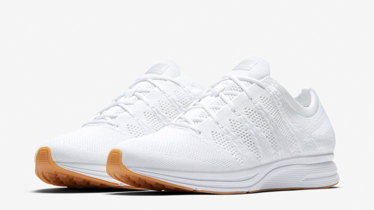 Nike Flyknit Trainer White Gum Womens