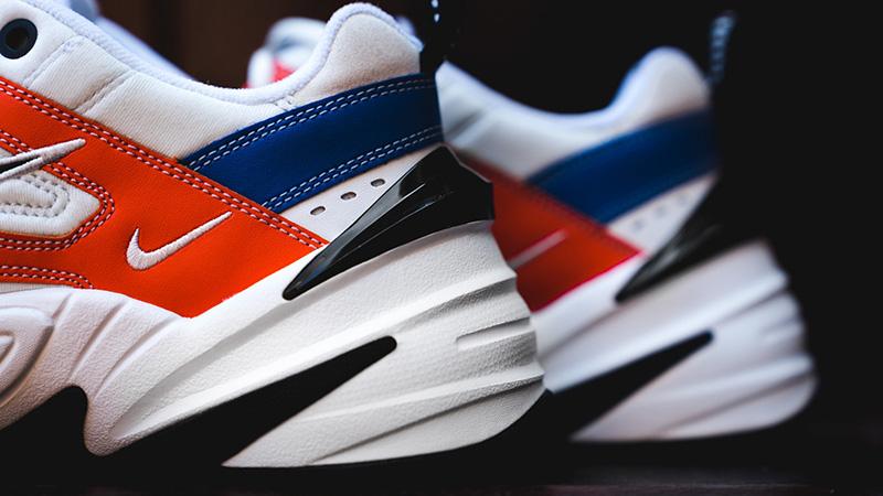 Nike M2K Tekno White Orange 01