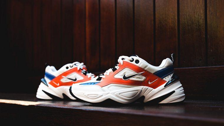 3a2dd70ae0 Nike M2K Tekno White Orange 02