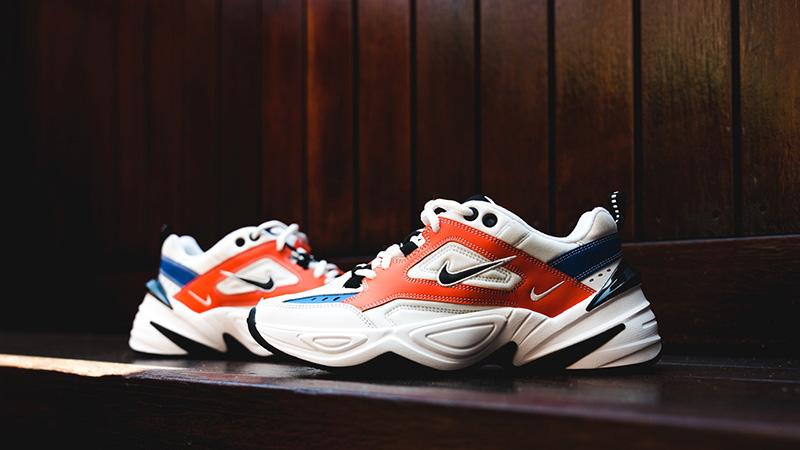 Nike M2K Tekno White Orange 02