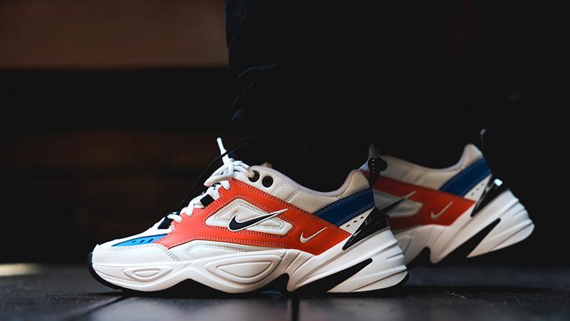 Nike M2K Tekno White Orange 03