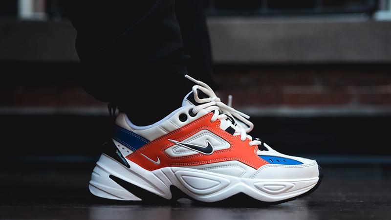 Nike M2K Tekno White Orange 04