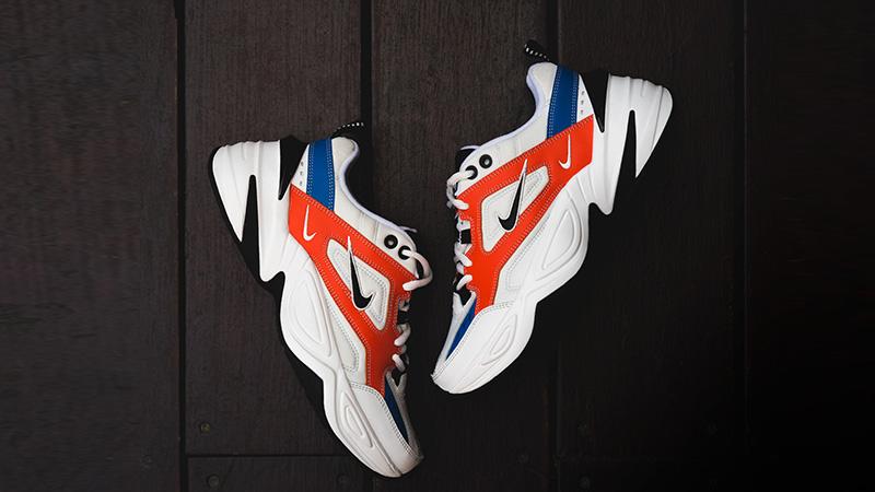 Nike M2K Tekno White Orange 05
