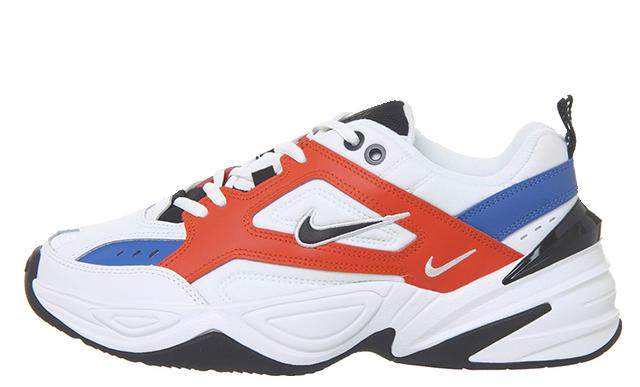 Nike M2K Tekno White Orange