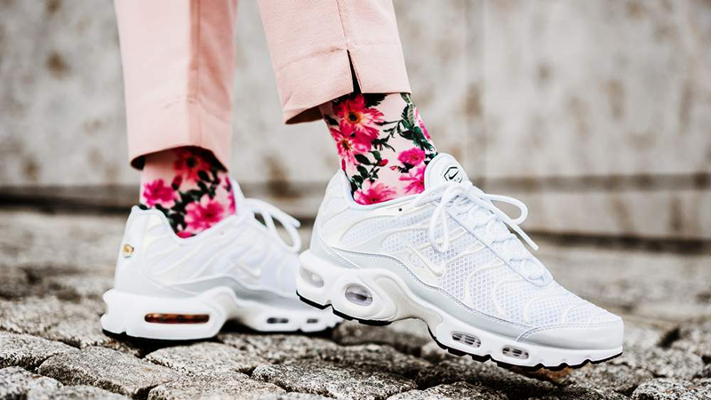new york 09729 e347e Nike TN Air Max Plus White Womens | 848891-100
