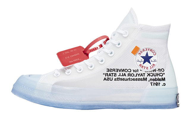 Comme des Garcons Play x Converse Chuck Taylor All Star 70 Hi White ... ed63c203a