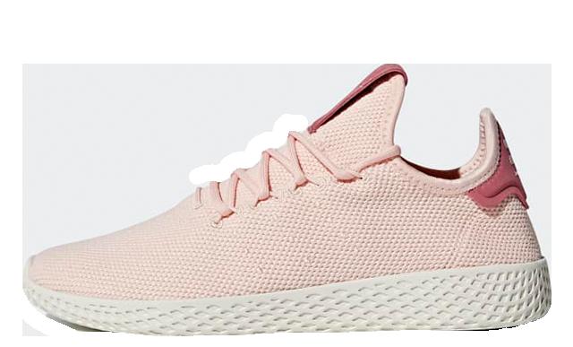 Pharrell x adidas Tennis Hu Pink AQ0988