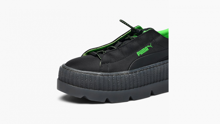 low priced 4099f 5904b Rihanna x PUMA Fenty Cleated Creepers Black | 367681-03