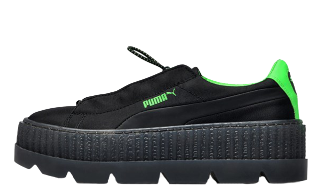 low priced 44aeb 76aac Rihanna x PUMA Fenty Cleated Creepers Black | 367681-03