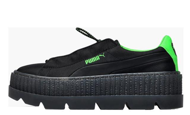Rihanna x PUMA Fenty Cleated Creepers Black | 367681-03