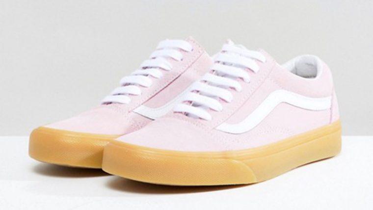 Vans Old Skool Pastel Pink Gum The Sole Womens