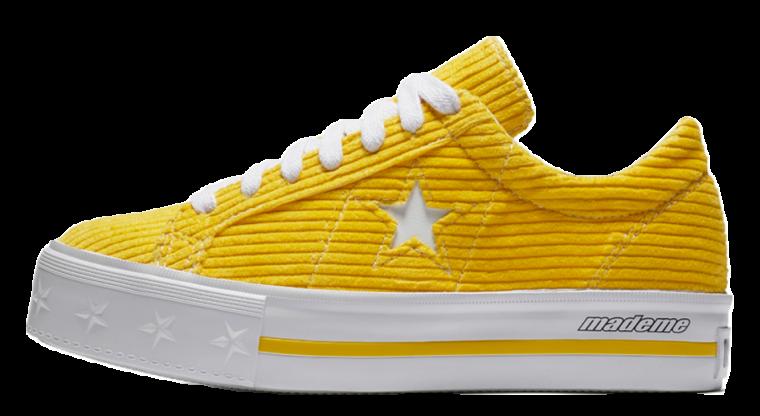 Converse x MadeMe One Star Platform