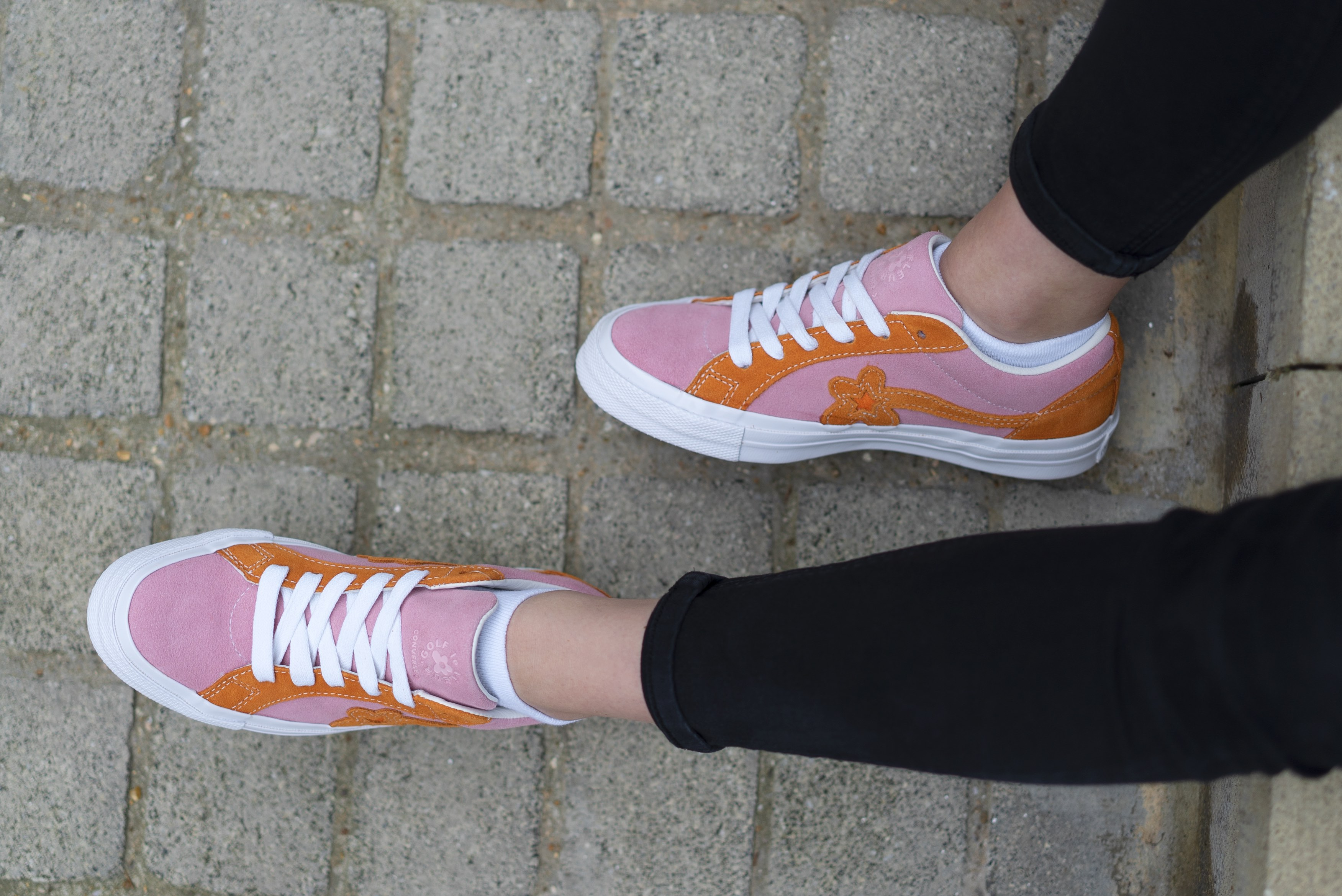 An Exclusive On Foot Look At The New Golf Le Fleur Converse Style