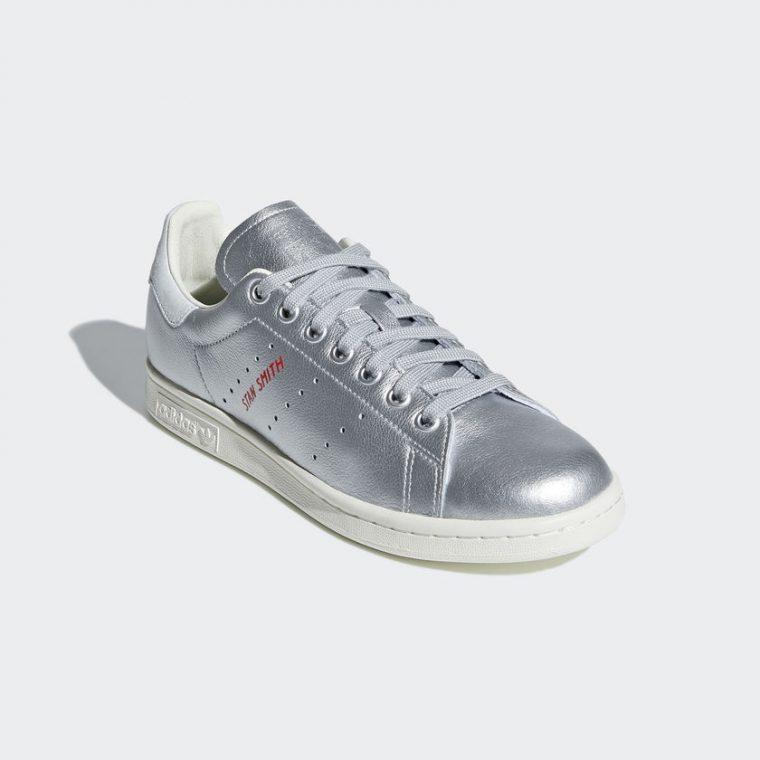 adidas Originals Stan Smith Silver Metallic | B41750 thumbnail image