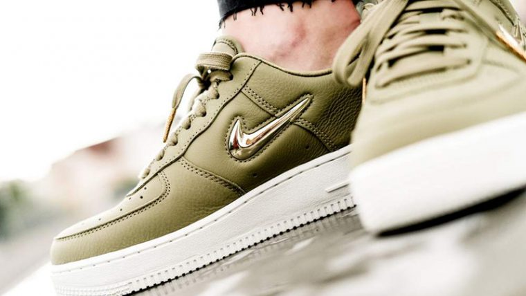 Nike Air Force 1 07 LX Olive Womens AO3814-200 02 thumbnail image
