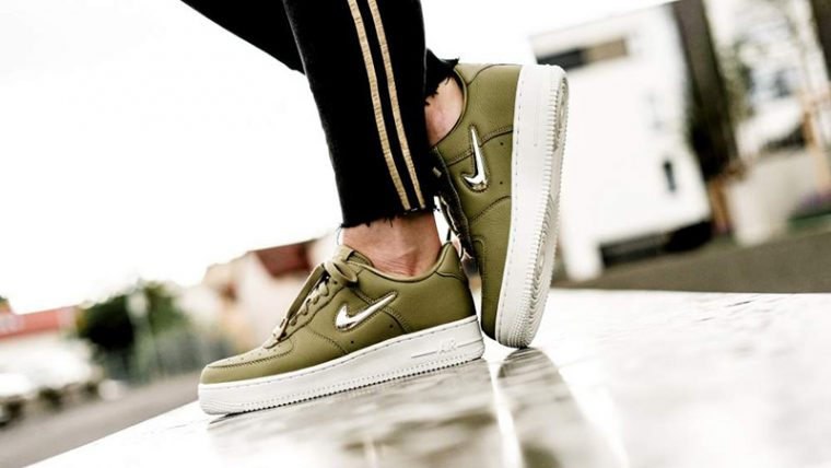 Nike Air Force 1 07 LX Olive Womens AO3814-200 03 thumbnail image