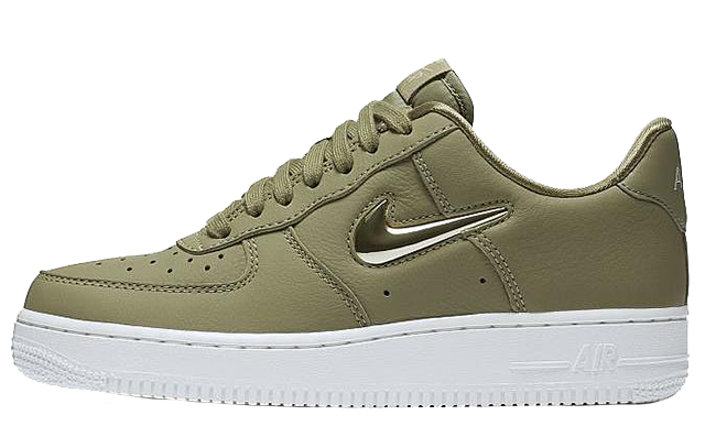Nike Air Force 1 07 LX Olive Womens AO3814-200 thumbnail image