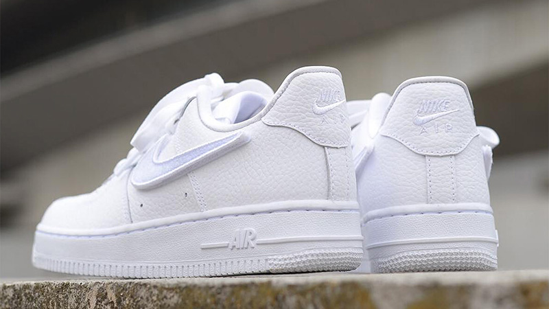 timeless design b3ea7 d827f ... Nike Air Force 1-100 White Womens while it is still in stock! If you re  loving this sneaker, make sure to hit that bell icon above for release  reminders ...