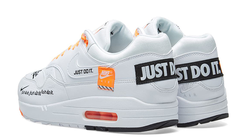Nike Air Max 1 Just Do It White Womens 917691-100 01