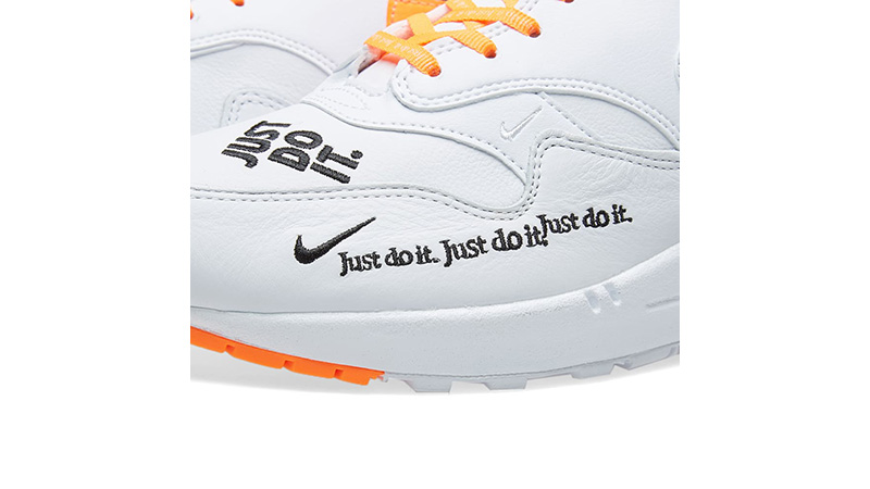 Nike Air Max 1 Just Do It White Womens 917691-100 02
