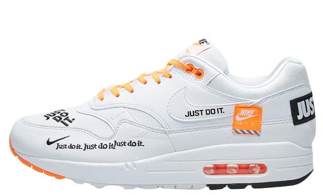 Nike Air Max 1 Just Do It White Womens 917691-100