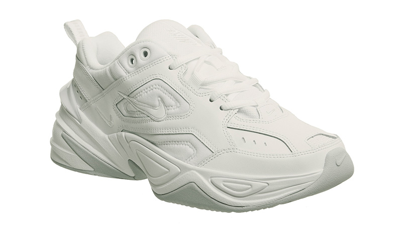 nike white m2k tekno trainers size 5
