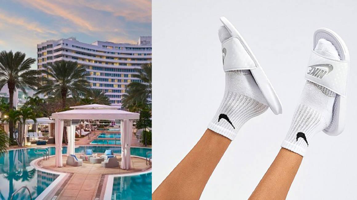 Nike Womens Benassi Slide Sandal w1160