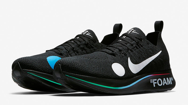 Off-White x Nike Zoom Fly Mercurial Flyknit Black | AO2115-001